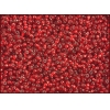 Seedbead Silver Lined Light Red 10/0